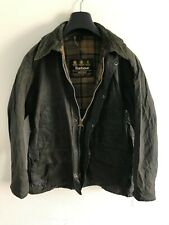 Mens Barbour Bedale wax jacket Blue coat 38 in size Small / Medium S/M #1
