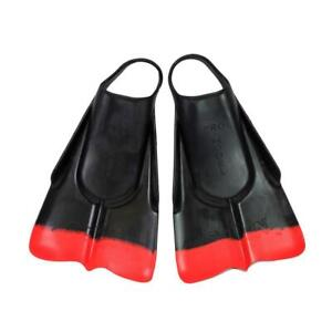 DaFins - Black / Red - Body Surfing Swim Fins