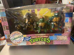 Teenage mutant ninja turtles special collectors 4-pack in package 1992