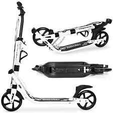 *OPEN BOX* EXOOTER M2050WB 9XL Adult Kick Scooter With Dual Shocks In White.