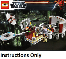 NEW LEGO INSTRUCTIONS ONLY PALPATINE'S ARREST 9526 book manual from set