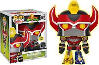 "Exclusive Power Rangers Megazord Glow GITD 6"" FUNKO Pop Vinyl NEW in Box"