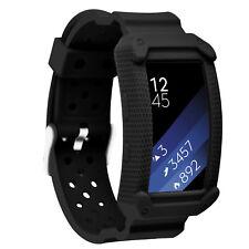 Moretek Sport Bands for Samsung Gear Fit 2 / Pro with Protective Frame Strap