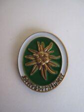 Heeresbergführer Abzeichen Pin Gebirgsjäger Edelweiss WH Wehrmacht Mountain Tro