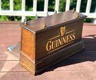 Guinness Keg Draft Bar 4 Faucets Wooden Beer Tap Tower Dispenser Coffin Box
