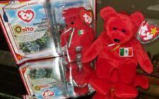 Osito: The Mexican Bear TY Beanie Baby Original & Teenie Beanie