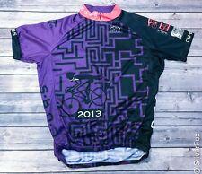 Chicago Urban Bicycling Society C.U.B.S. Bike Cycling Jersey Shirt RARE sz M
