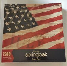 2001 Hallmark Springbok CALL TO FREEDOM Jigsaw PUZZLE 1500 Pcs NEW SEALED Flag