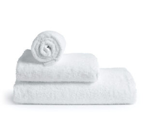 White or Cream - Hand towels, Face towels, Bath and Bath sheets 100% COTTON