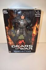 "Neca 2008 Gears of War 12"" Marcus Fenix Figure NIB"
