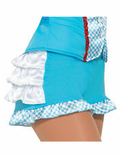 Farm Girl Womens Adult Dorothy Wizard Of Oz Costume Accessory Boy Shorts-Std