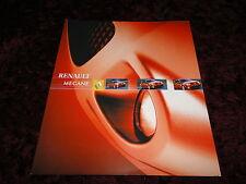Renault Sport Megane 255 Brochure 2004 - Sep 2003 Issue