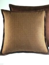 New Estate Croscill Highlands Houndstooth European Pillow Sham Retail$85.00,Nip