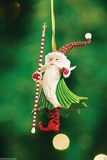 Patience Brewster Mini Santa Wizard Christmas Ornament 08-30402 Defect
