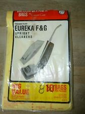 Eureka Vacuum Cleaner Bags F&G Upright Cleaners 8 Bags -Free Shipping!