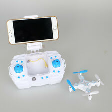 Blue Color Fly For Catch Pokemon Go Mini Quadcopter with WiFi Camera Drone New