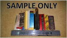 Knife Material OFF CUTS - Must read description.RANDOM SIZES / COLOUR /MATERIAL