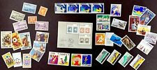 Canada Un Hong Kong Lot Mint Used Fdc Sheet Sport Art Kid Space Hkg Ny 1948 1981