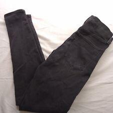 New Levis Womens Faded Black Mile High Super Skinny Stretch Denim Jeans 29 x 30
