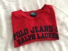 RALPH LAUREN LONG SLEEVED T SHIRT 8 YEARS
