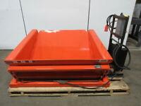 "PRESTO TZ50-60 6000 LB 45 Degree Container Tilter 208-230/460V 3Ph 50""W x 48""D"