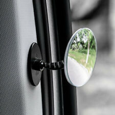 Car 360° Blind Spot Side Mirror Stick On Glass Adjustable Safety Lens Accessory