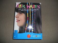 Curiosity Kits Hair Wraps Threads and Beads Hair Kit New in Box Nib
