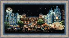 "Counted Cross Stitch Kit RIOLIS 1473 - ""Evening Cafe"""
