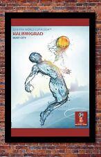 "2018 FIFA World Cup Russia Poster Soccer Tournament   Kaliningrad   13"" x 19"""