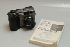 OLYMPUS Camedia C-3000Zoom Digital Camera