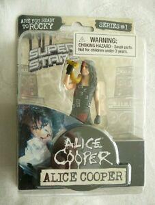 ALICE COOPER 2009 FIGURINE IN PACKAGE Series 1 W/ BONUS