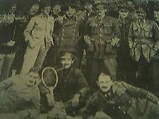 book picture - ww1 world war one - 1915 - - allies colony at crefeld prison camp