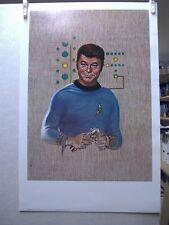 Frank Kelly Freas Star Trek Print: Dr. McCoy (USA)
