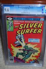 Fantasy Masterpieces #2 CGC 9.6 1980 Silver Surfer! WP! Pedigree! B12 1 911 cm