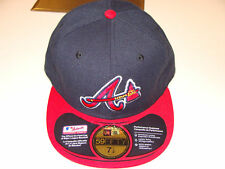 New Era Cap Hat Atlanta Braves Alt 7 3/4 Baseball MLB