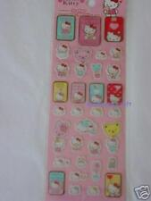 NEW Sanrio Bear Hello Kitty Stickers 3D Effect 33 PCS Q