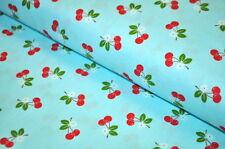 Riley Blake Kirschen Kirsche Cherry USA Designerstoff Kirschblüte Rockabella
