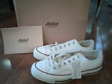 New Converse Addict All Star Chuck Taylor Low White Leather Sneakers US 7.5