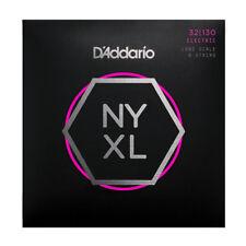 D'Addario NYXL 6-String Bass Guitar Strings gauges 32-130