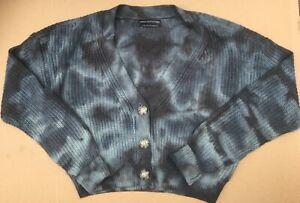 BDG Urban Outfitters Amara Tie Dye Cardigan-Strickjacke Große UK 10-12 UVP 46 £.