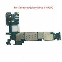 Main Motherboard Logic Board Part For Samsung Galaxy Note 5 N920C 32GB Unlocked