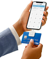 Square Mobile Credit Card Reader For magstripe Swipe Payment Lightning Connector