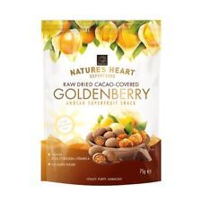 Natures Heart Raw Chocolate Covered Golden Berries 75g (Pack of 6)