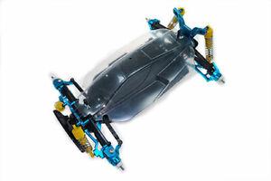 Blue Alloy Essential Conversion Kit for Tamiya TT02B Buggy Yeah TATT-S01BU
