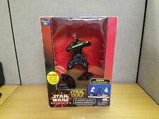 Thinkway Toys Star Wars Episode I Darth Maul Talking Bank, in original box!