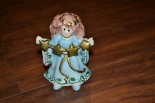 """G17- Fitz and Floyd Moonbeams Angel Figure With Stars approx. 4.25"""""""