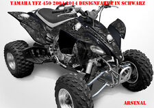 Invision décor Graphic Kit ATV yamaha yfz 450 04-14,yfz 450r Arsenal, Décalques B