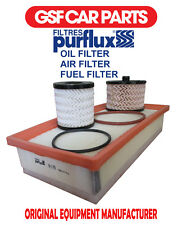 Service Kit Oil Air & Fuel Filters Replacement Part Peugeot 508 2.0 Hdi