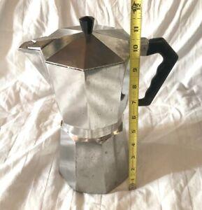 Vintage Bialetti ABC Crusinallo Moka Express 12 Cup Stovetop Espresso Coffee