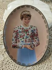 "Princess Diana #3 Collector Plate ""A True Princess"" Queen of Our Hearts A42"
